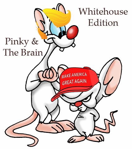 Pinky and the Brain - White House Edition
